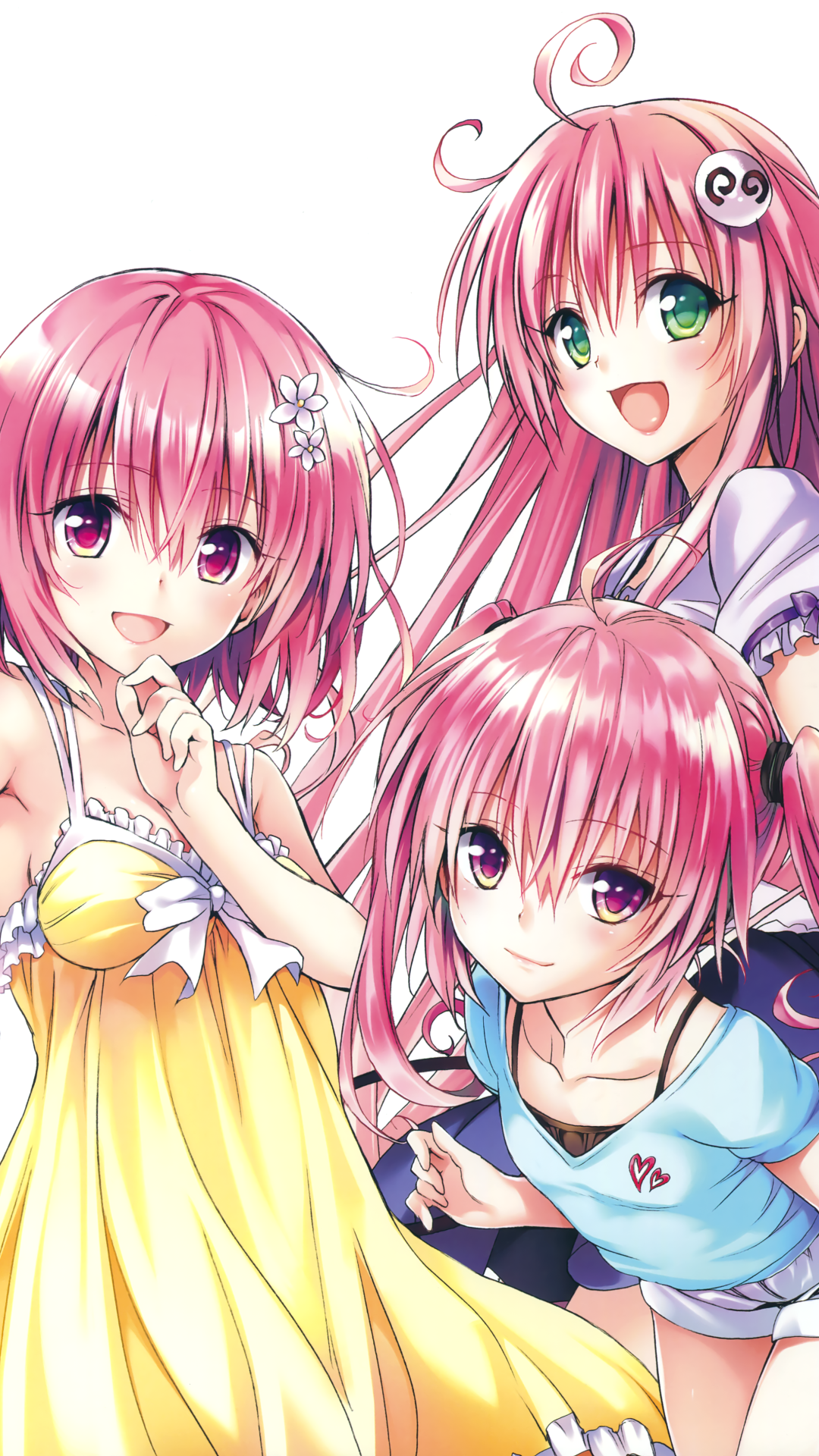 Anime To Love Ru Darkness 1080x1920 Wallpaper Id 689636