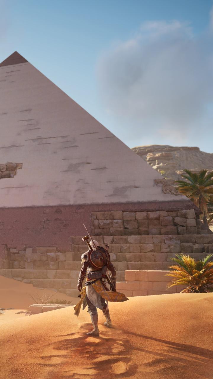 Video Game Assassin S Creed Origins 720x1280 Wallpaper Id