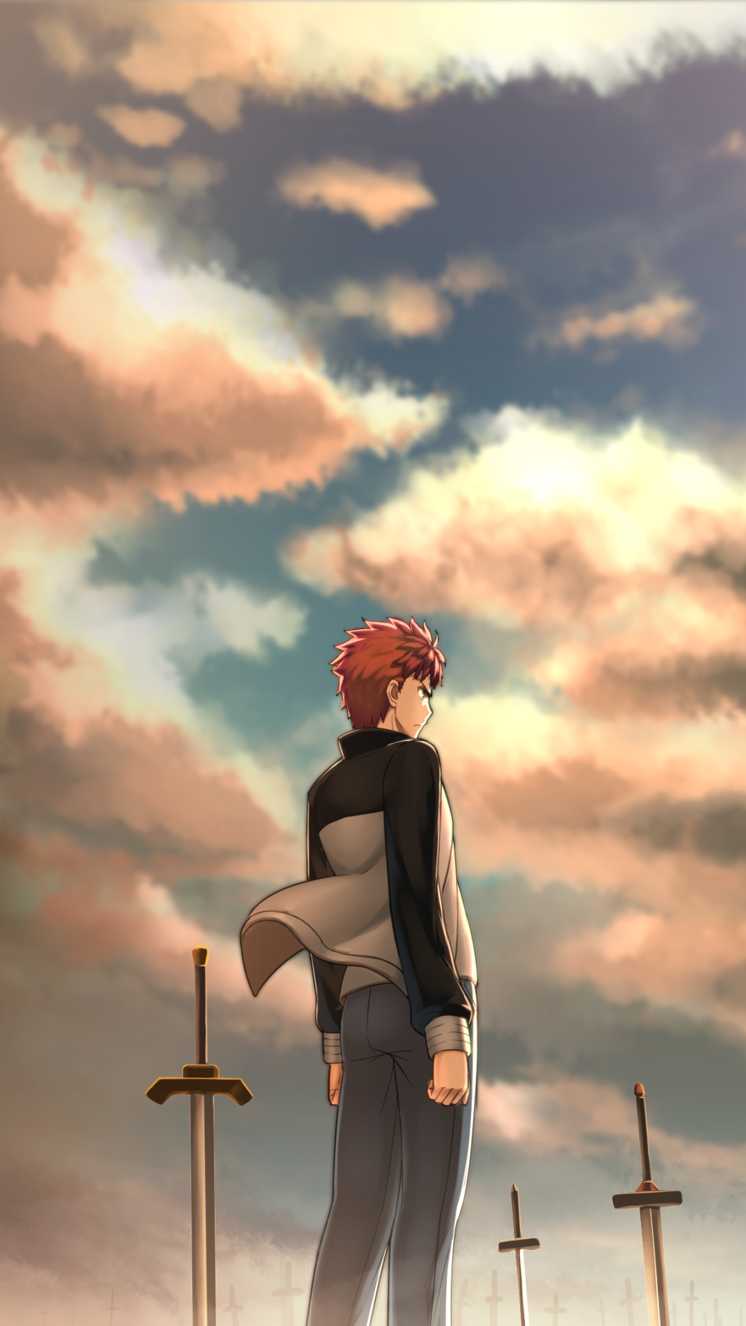 Anime Fate Stay Night Unlimited Blade Works 1080x1920 Wallpaper