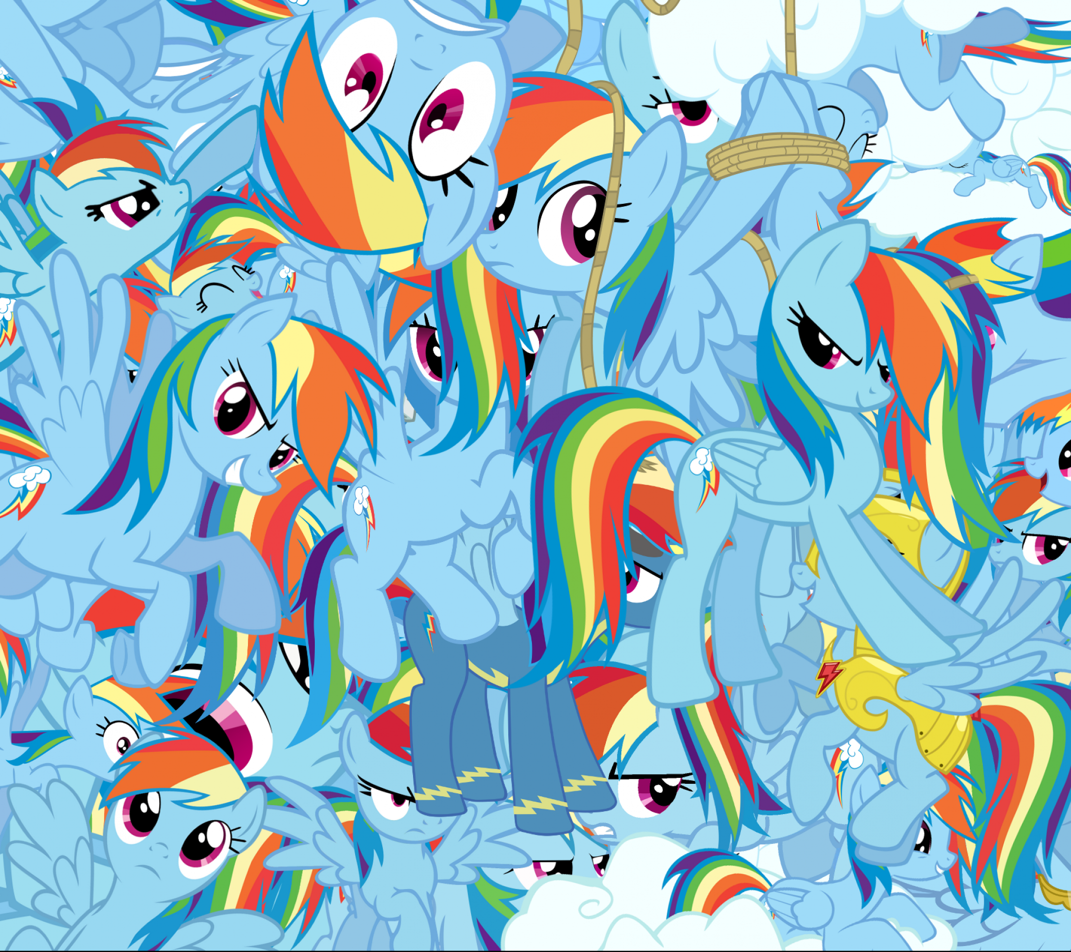 Tv Show My Little Pony Friendship Is Magic 2160x1920 Wallpaper