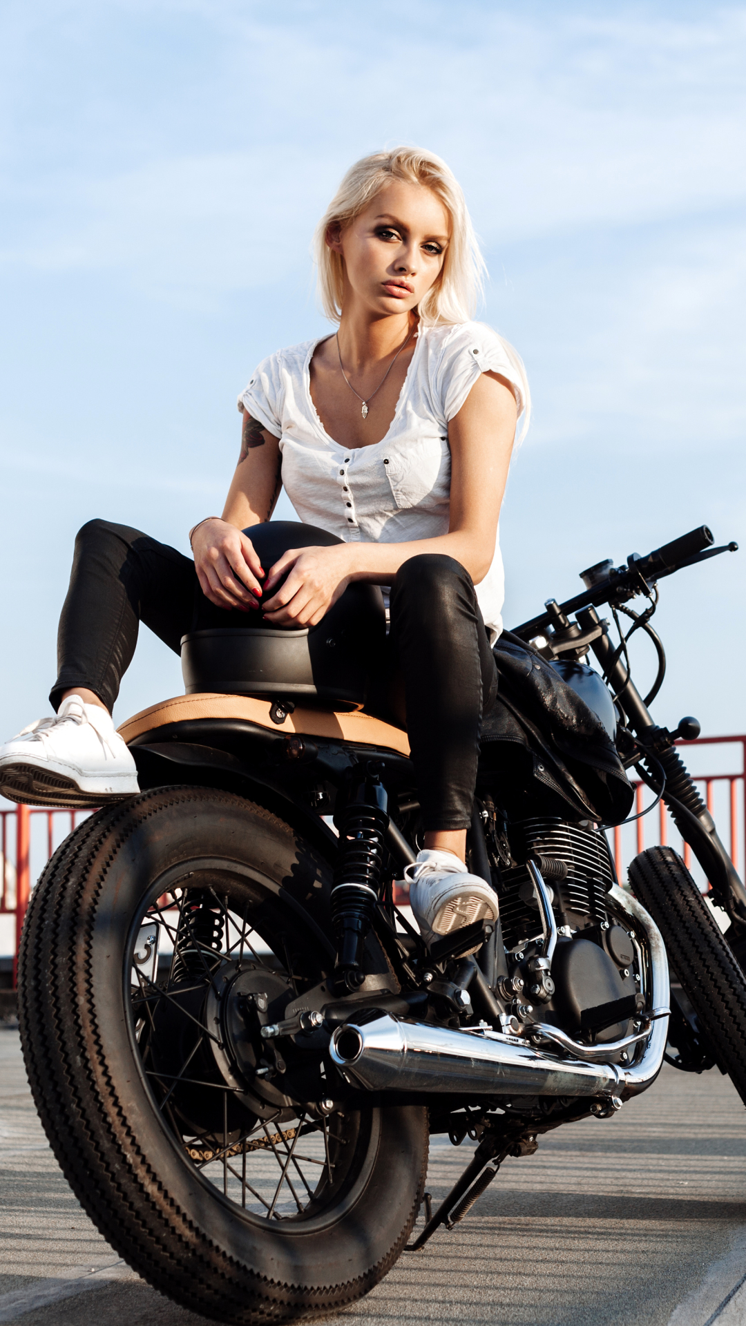Womengirls motorcycles 720x1280 wallpaper id 693346 mobile abyss women girls motorcycles 720x1280 mobile wallpaper voltagebd Images