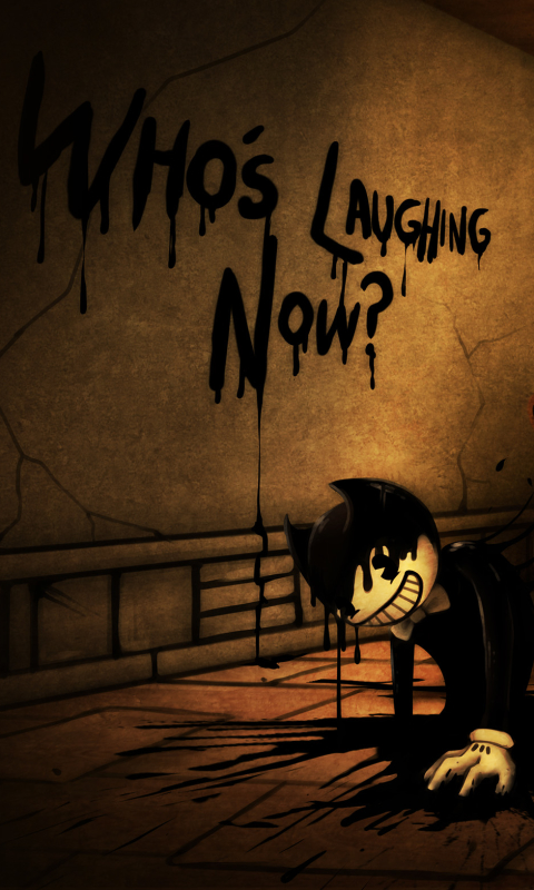 Video Gamebendy And The Ink Machine 480x800 Wallpaper Id
