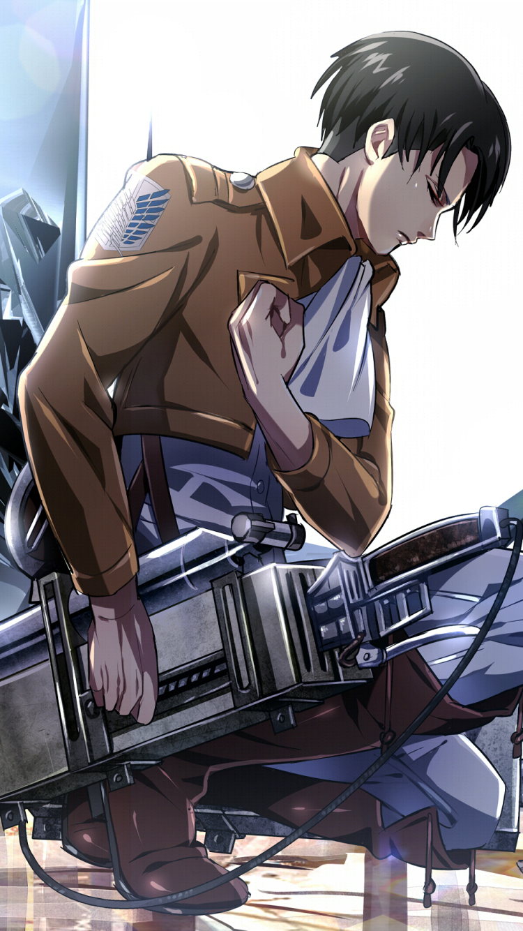 Anime Attack On Titan 750x1334 Wallpaper Id 693583 Mobile Abyss