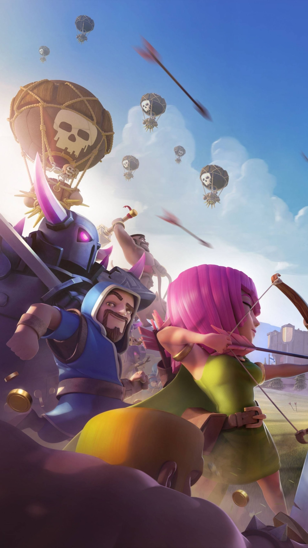 3 Clash Of Clans Apple Iphone 7 Plus 1080x1920 Wallpapers