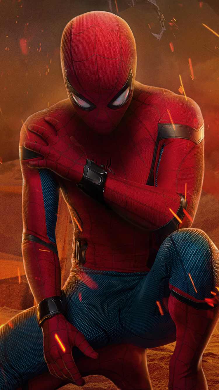 Movie Spider Man Homecoming 720x1280 Wallpaper ID 694347