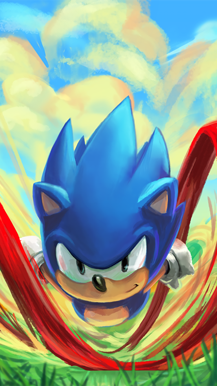 Video Game Sonic Mania 750x1334 Wallpaper Id 694440 Mobile Abyss