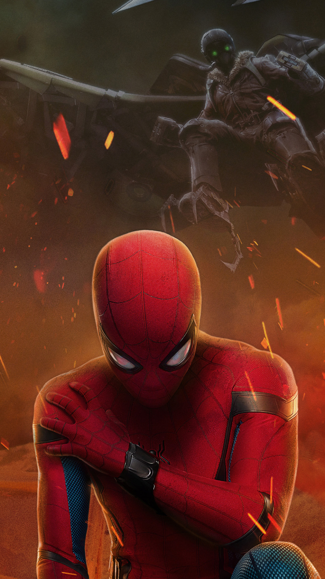 Movie Spider Man Homecoming 1080x1920 Wallpaper Id