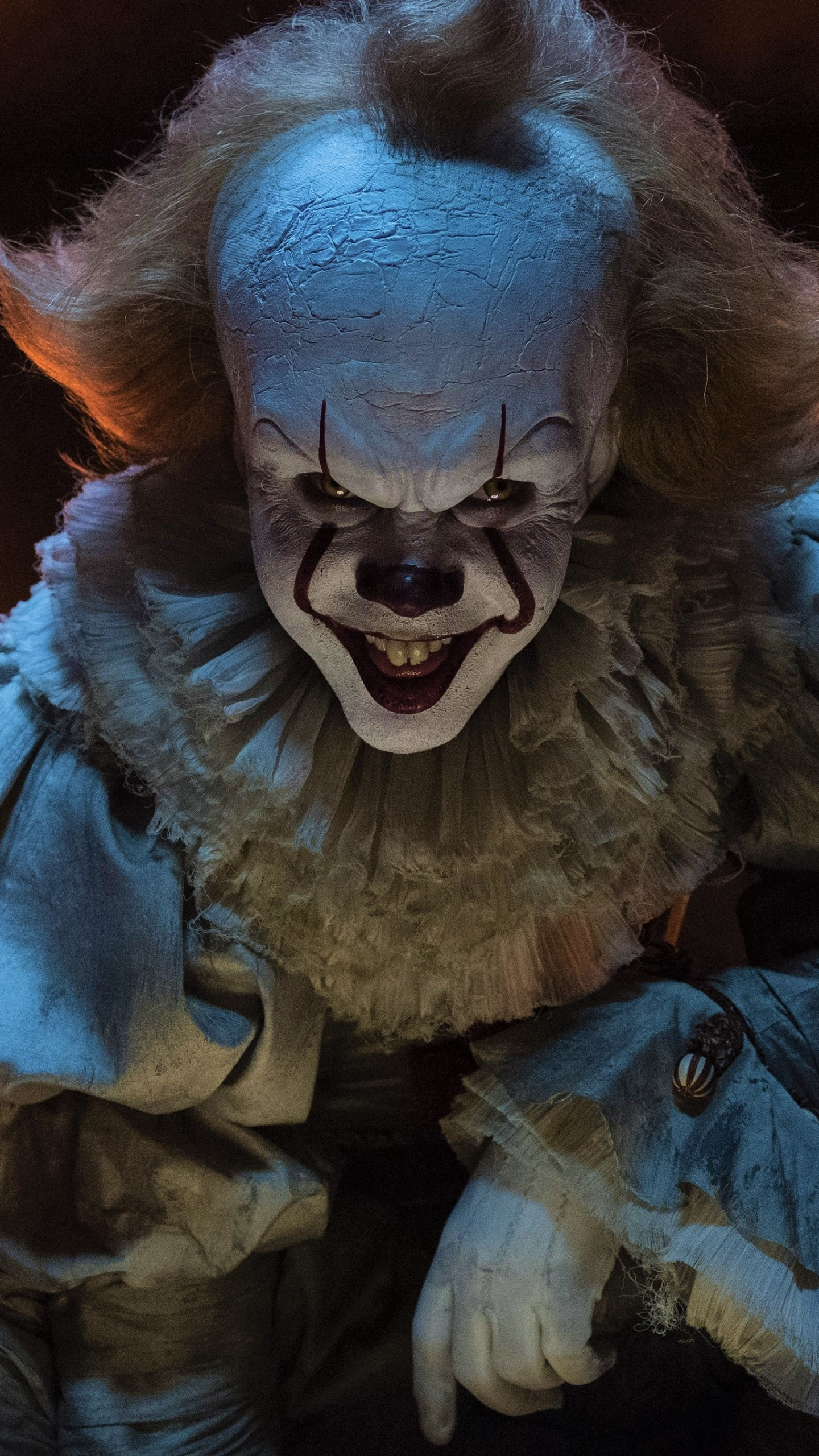 Movie it 2017 1440x2560 wallpaper id 694690 mobile - Pennywise wallpaper ...