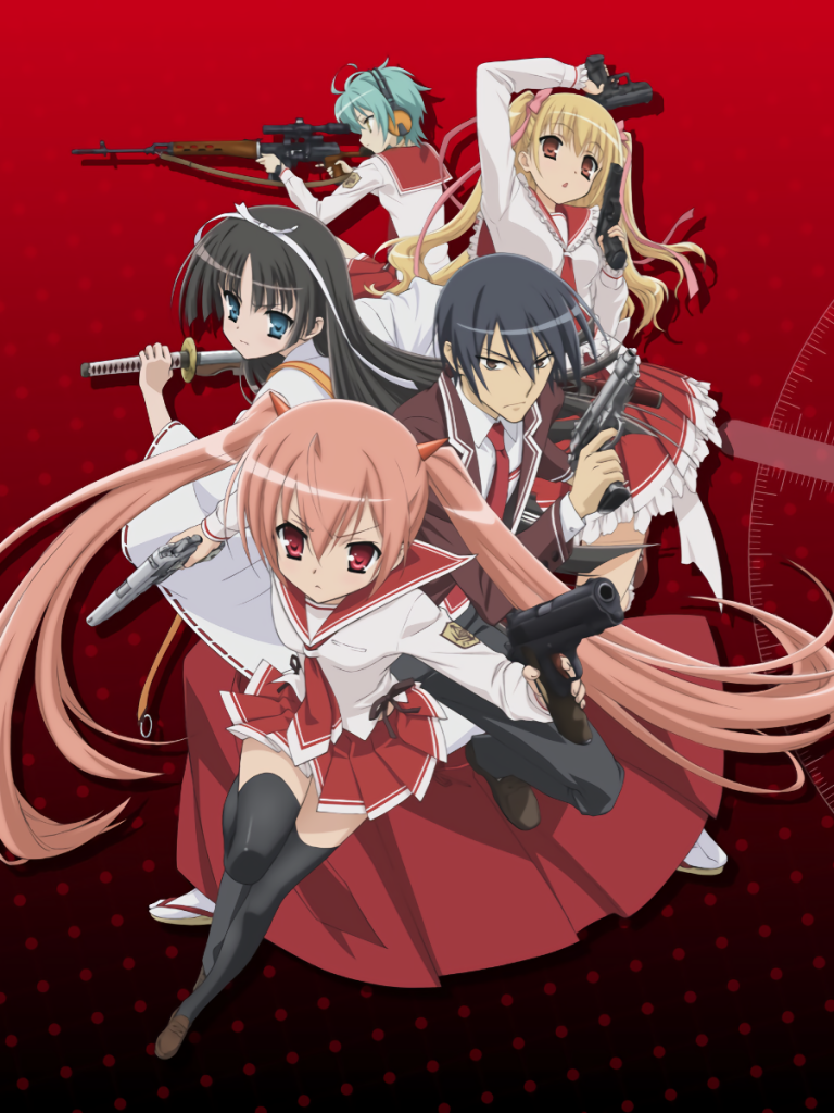 Anime Aria The Scarlet Ammo 768x1024 Wallpaper Id 696857