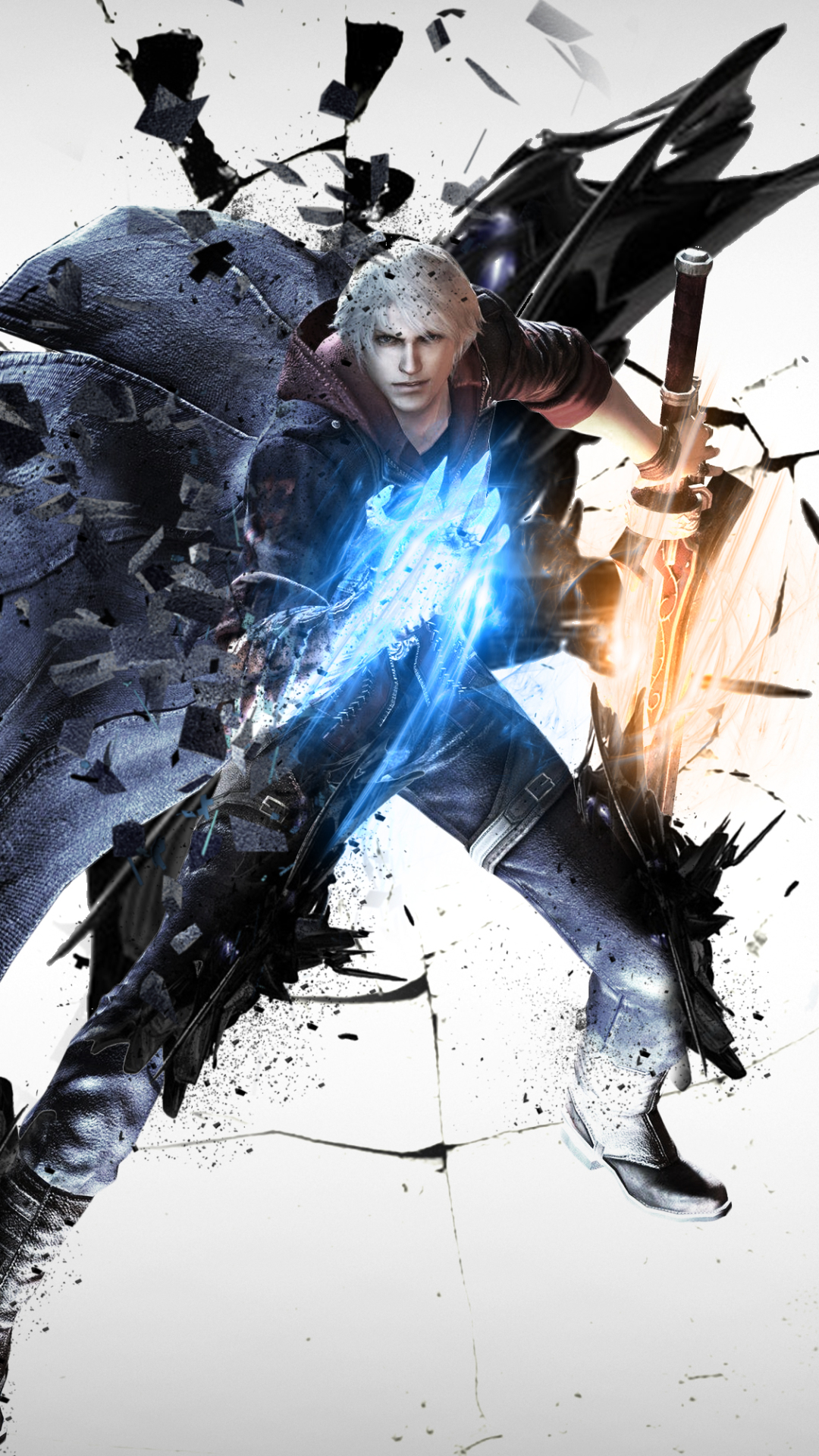 video game/devil may cry 4 (1080x1920) wallpaper id: 697182 - mobile