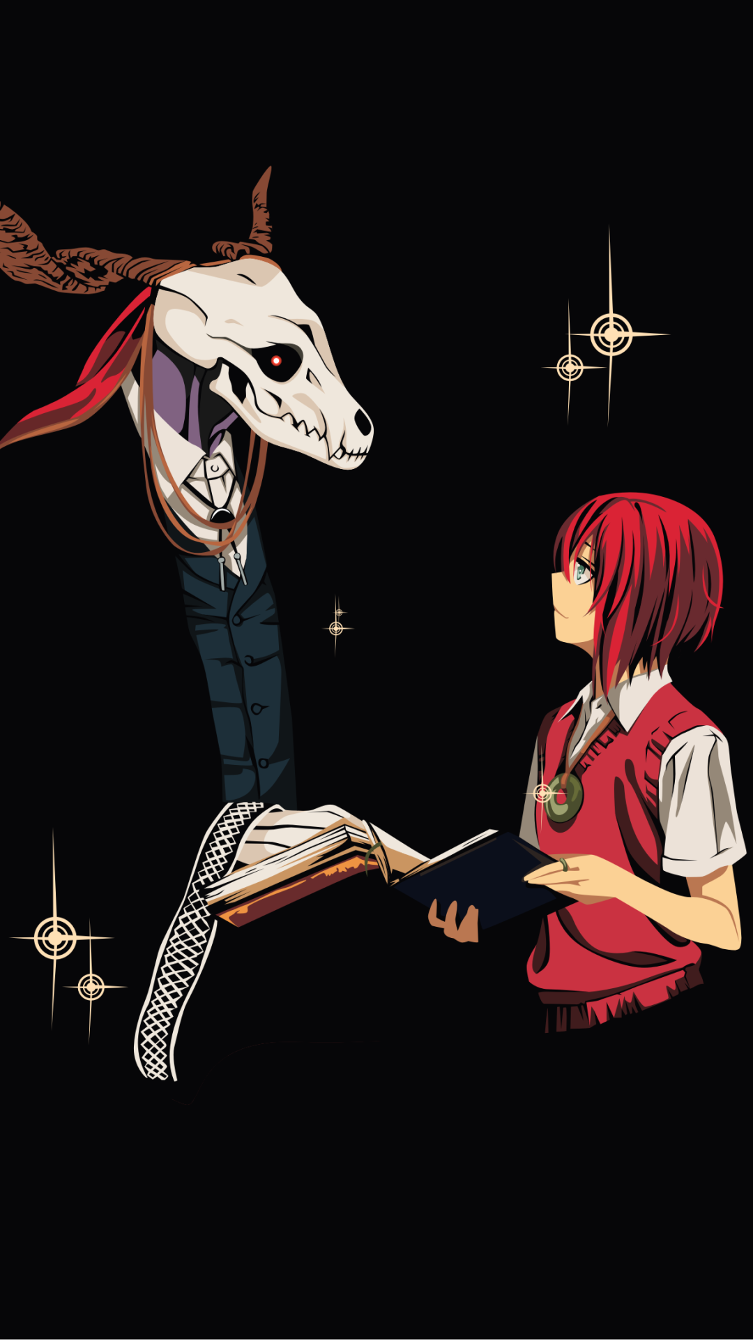 10 The Ancient Magus Bride Apple Iphone 6 750x1334 Wallpapers