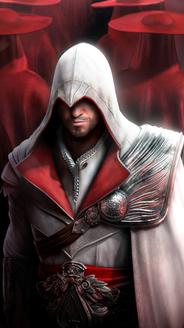 Video Game Assassin S Creed Brotherhood 640x1136 Wallpaper Id 699761 Mobile Abyss