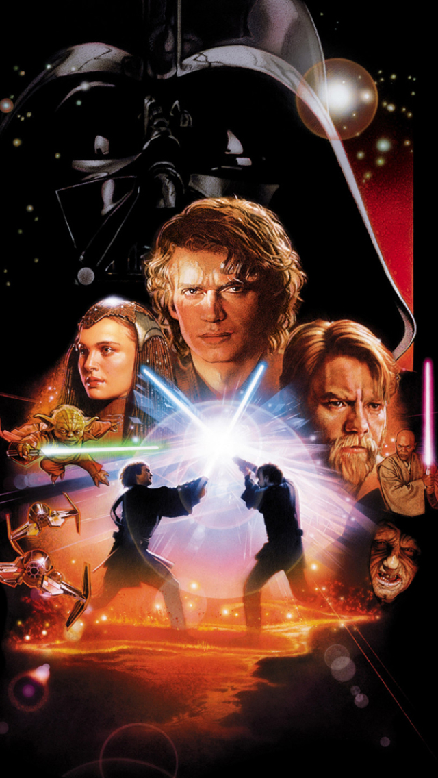 Movie Star Wars Episode Iii Revenge Of The Sith 640x1136 Wallpaper Id 699769 Mobile Abyss