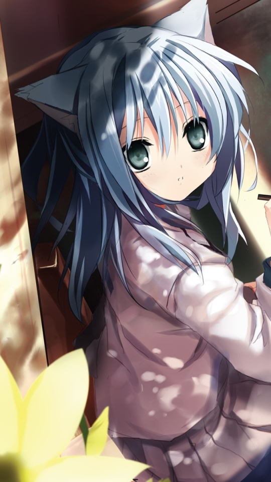 Anime Girl 540x960 Wallpaper Id 699835 Mobile Abyss