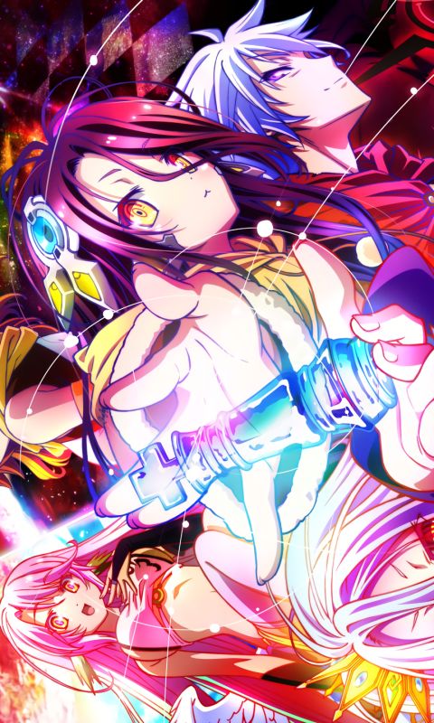 16 No Game No Life Zero Samsung Galaxy J1 480x800 Wallpapers