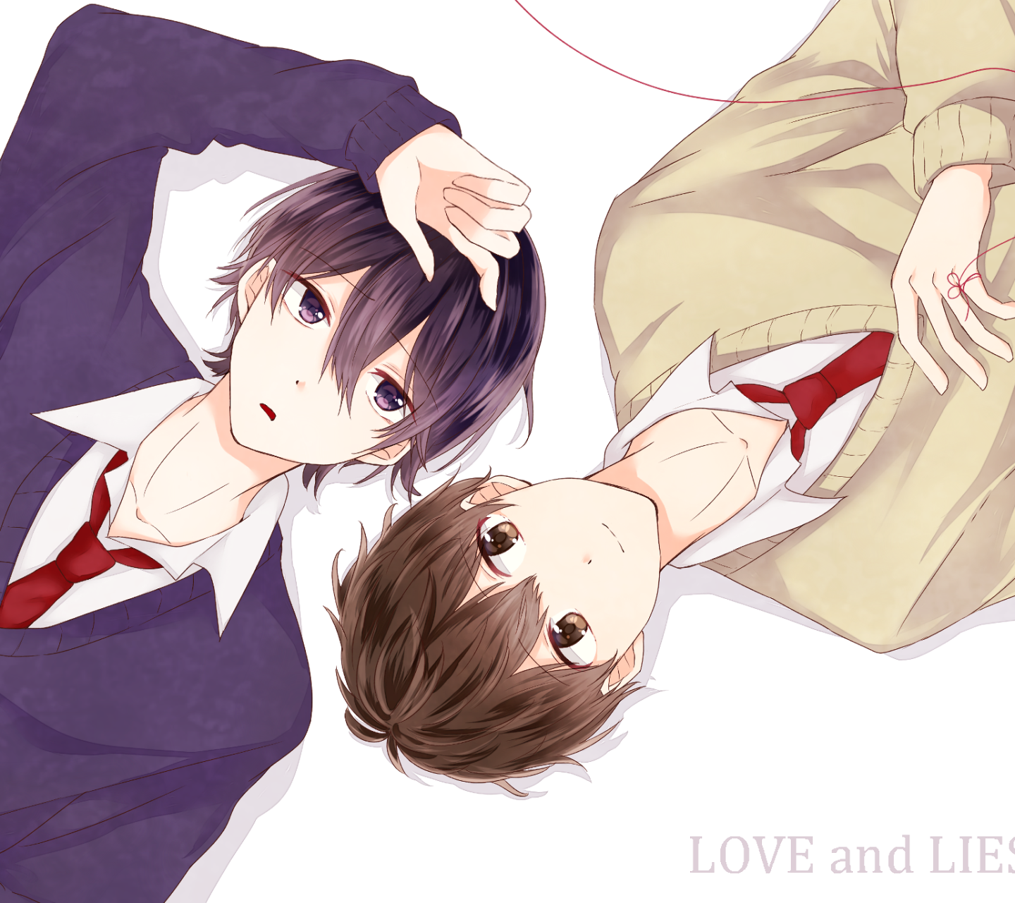 anime/love and lies (1440x1280) wallpaper id: 702812 - mobile abyss