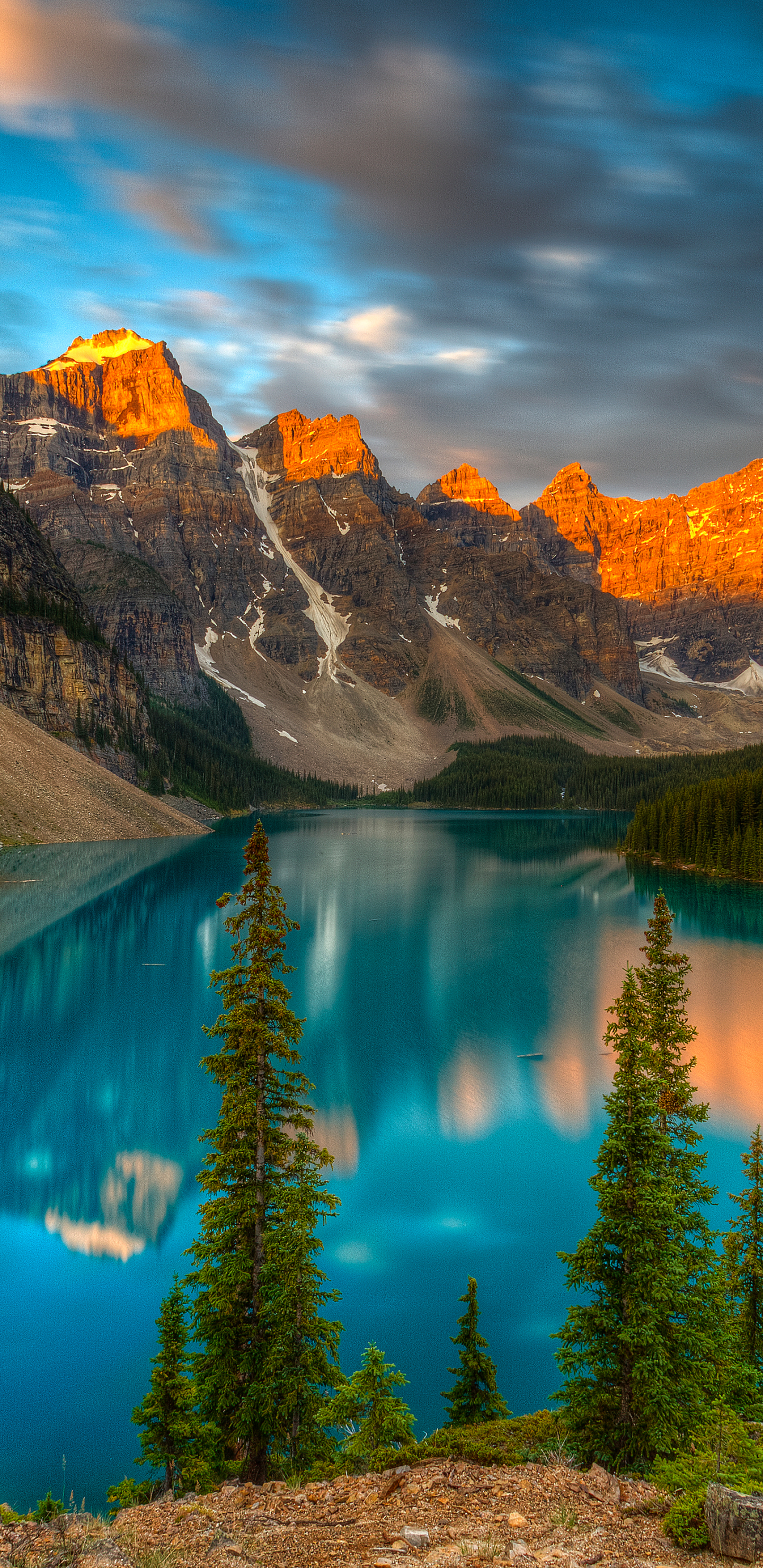 Earth/Moraine Lake (1440x2960