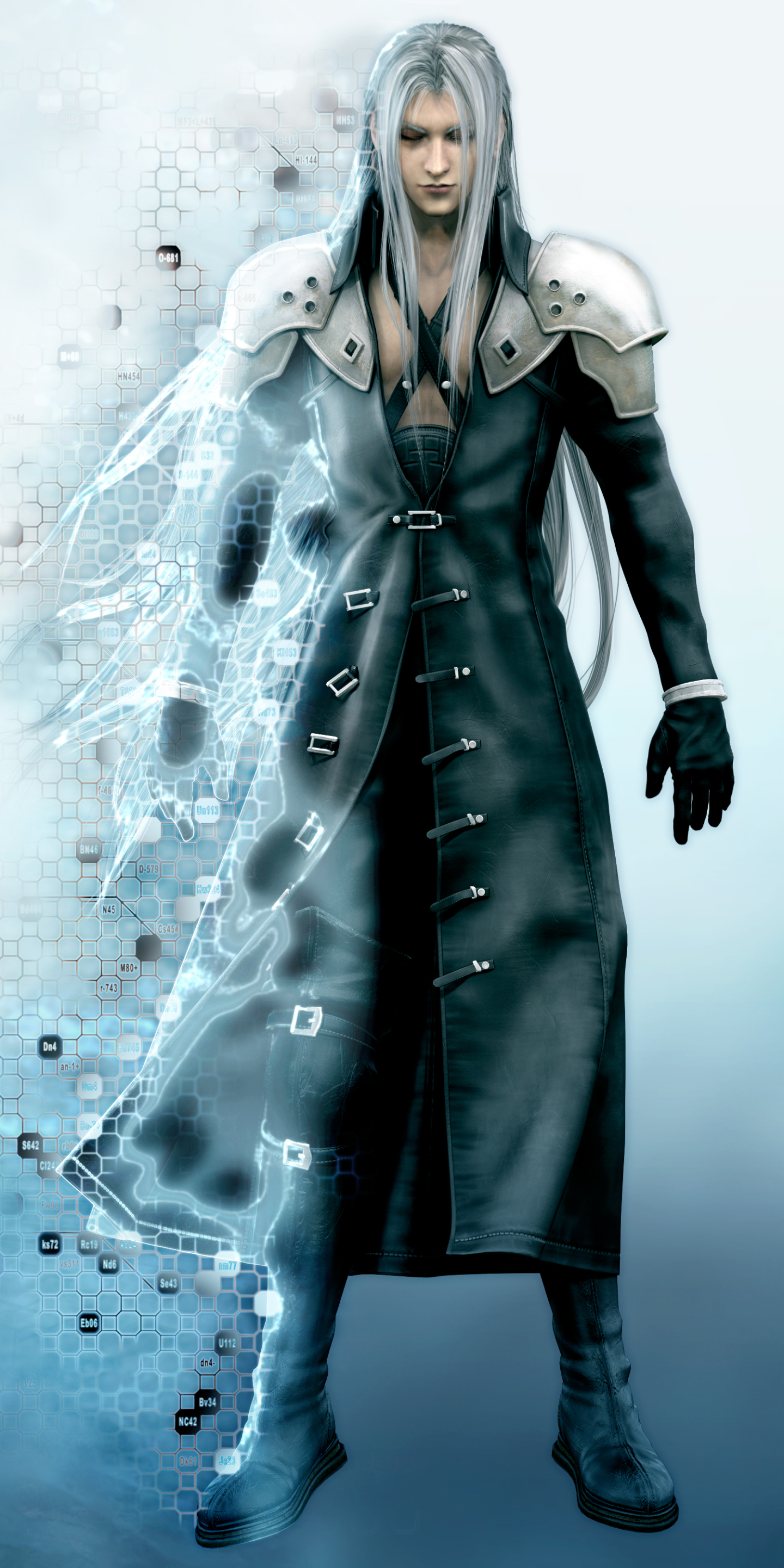 movie/final fantasy vii: advent children (1440x2880) wallpaper id