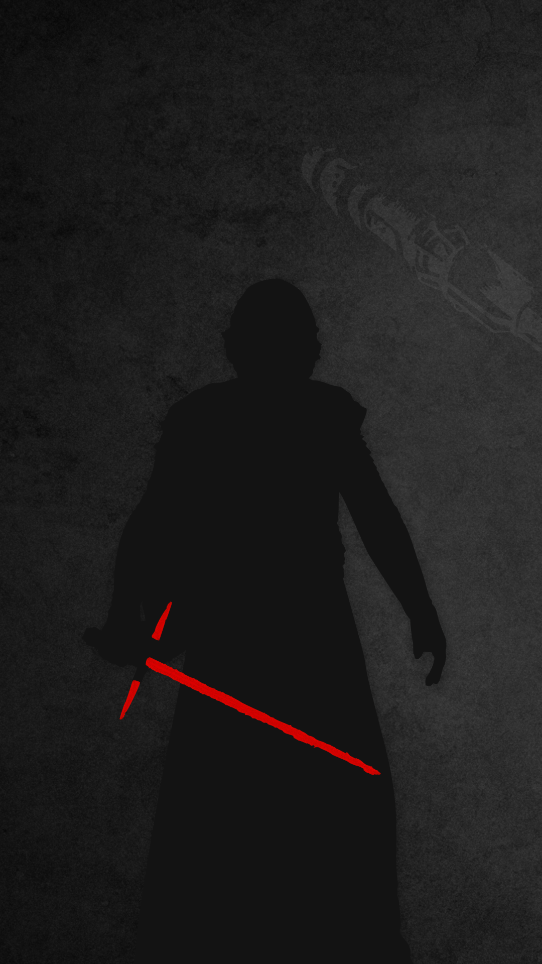 8K UHD Star Wars The Last Jedi Ben Solo Wallpaper Movie 1080x1920 Mobile