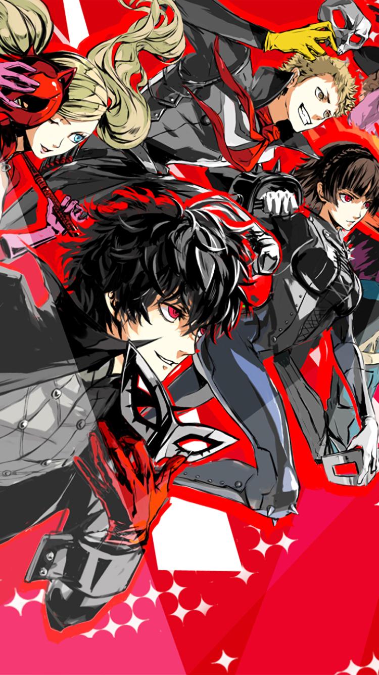 persona 5 desktop wallpaper: Video Game/Persona 5 (750x1334) Wallpaper ID: 707391
