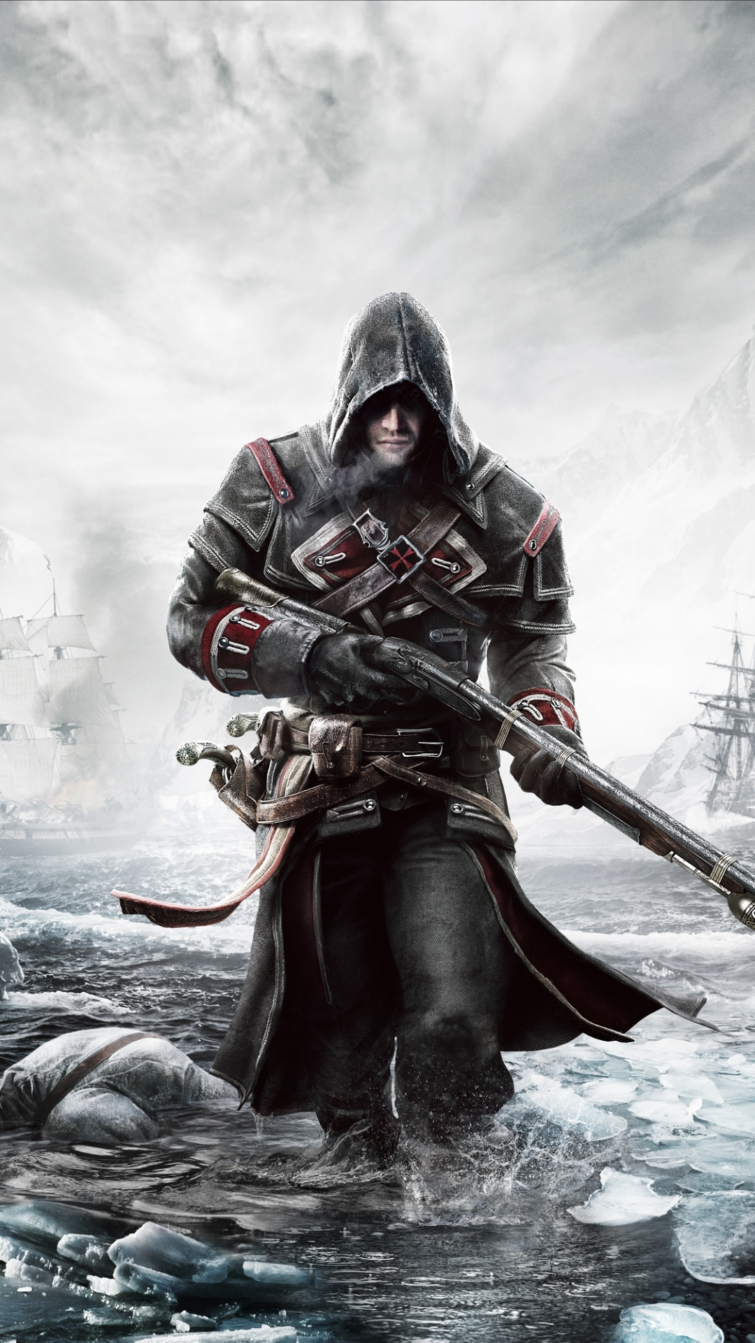 Video Game Assassin S Creed Rogue 1080x1920 Wallpaper Id 707694