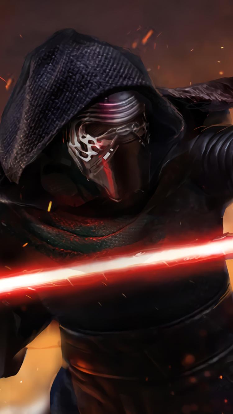 movie/star wars episode vii: the force awakens (750x1334) wallpaper