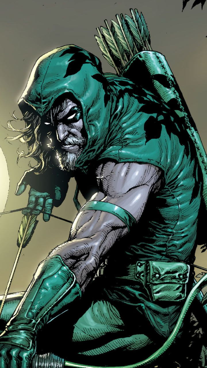 comics/green arrow (720x1280) wallpaper id: 707975 - mobile abyss