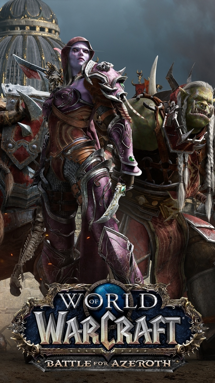 Video Game World Of Warcraft Battle For Azeroth 720x1280