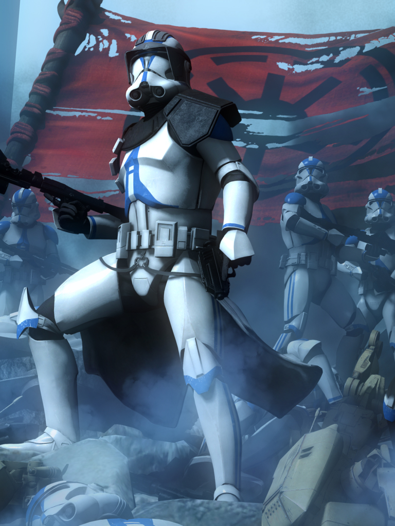 Movie Star Wars The Clone Wars 768x1024 Wallpaper Id 710109