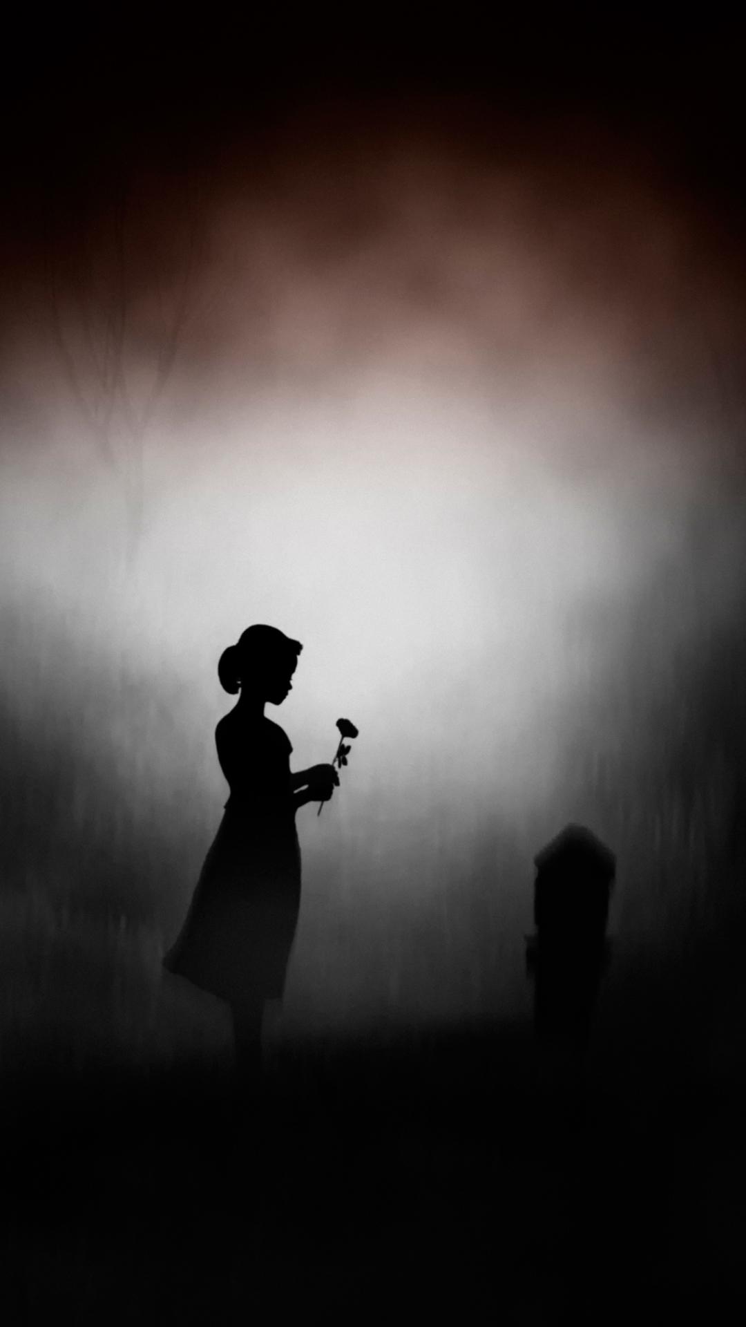 Dark Girl 1080x1920 Wallpaper Id 710162 Mobile Abyss