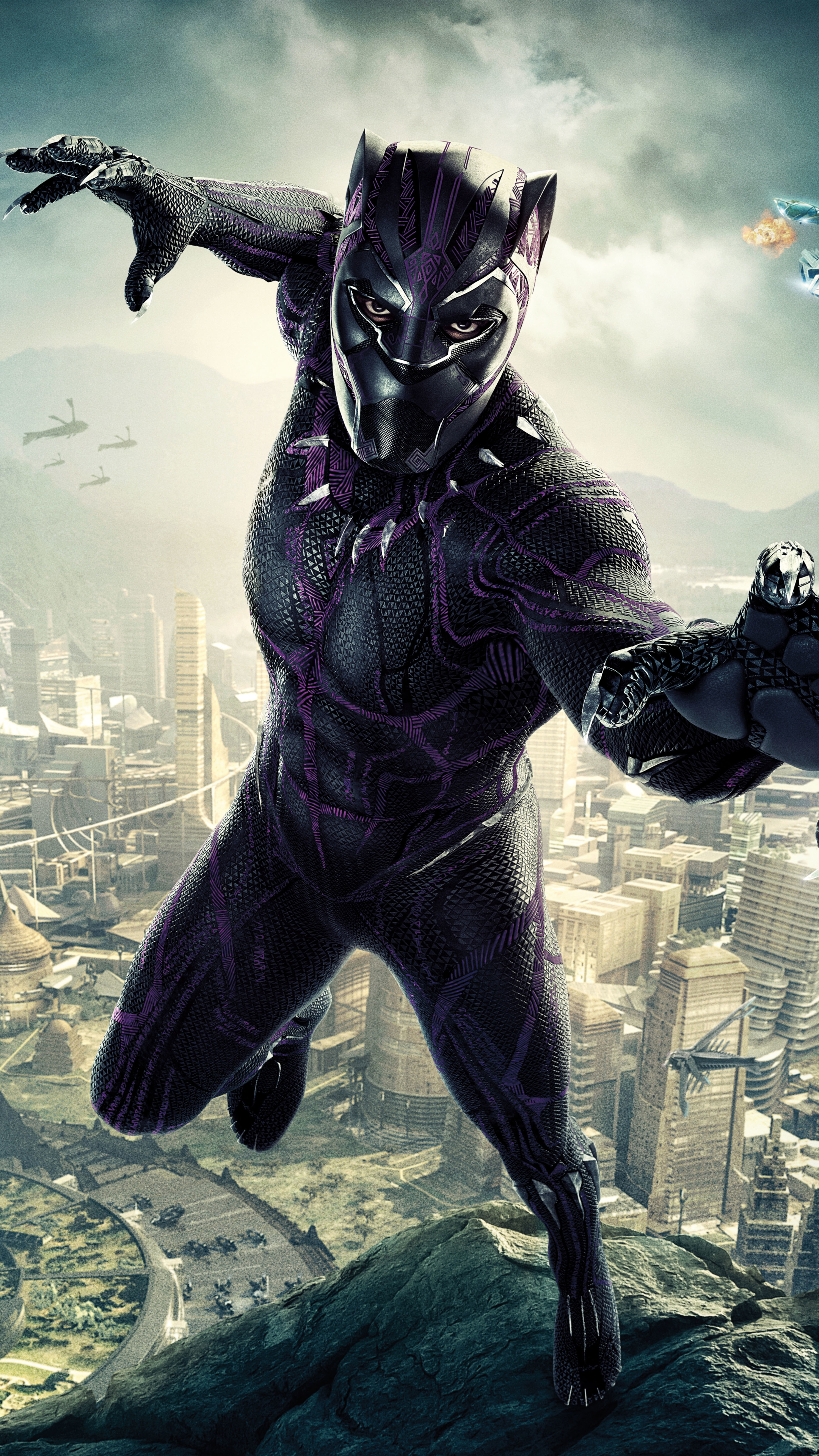 Movie Black Panther 2160x3840 Wallpaper Id 710575 Mobile Abyss