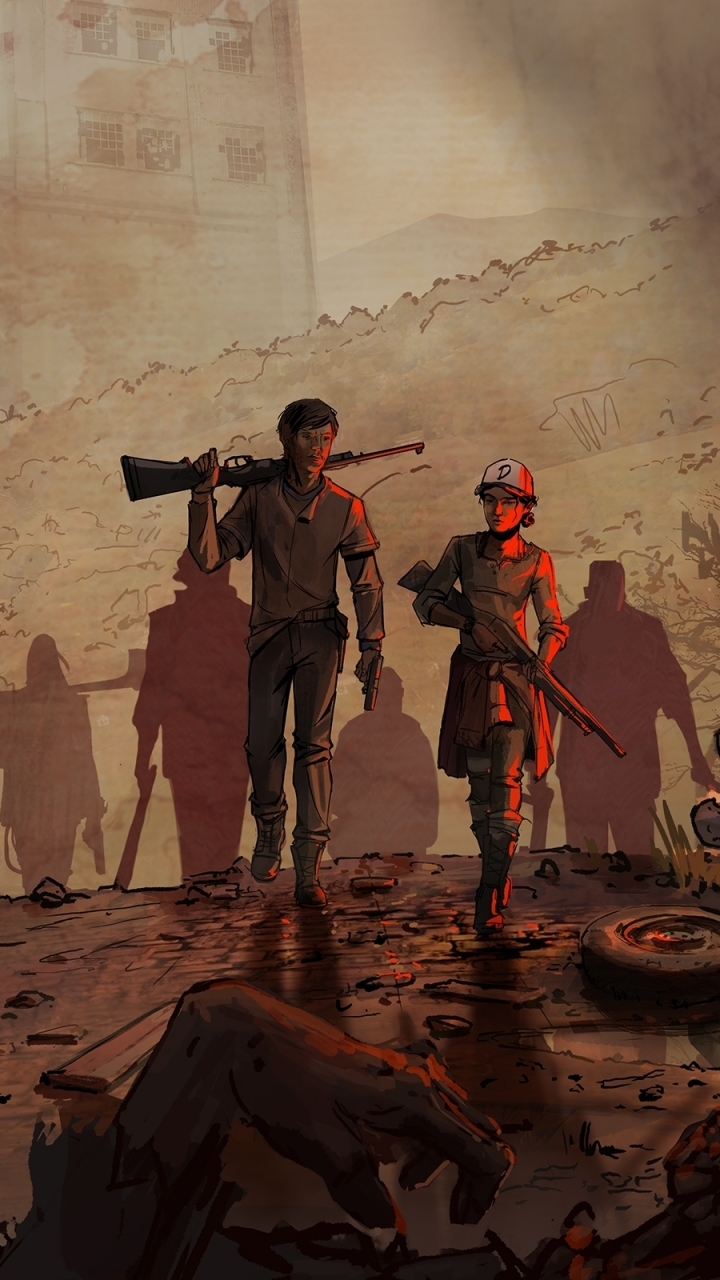 Video Game The Walking Dead A New Frontier 720x1280 Wallpaper