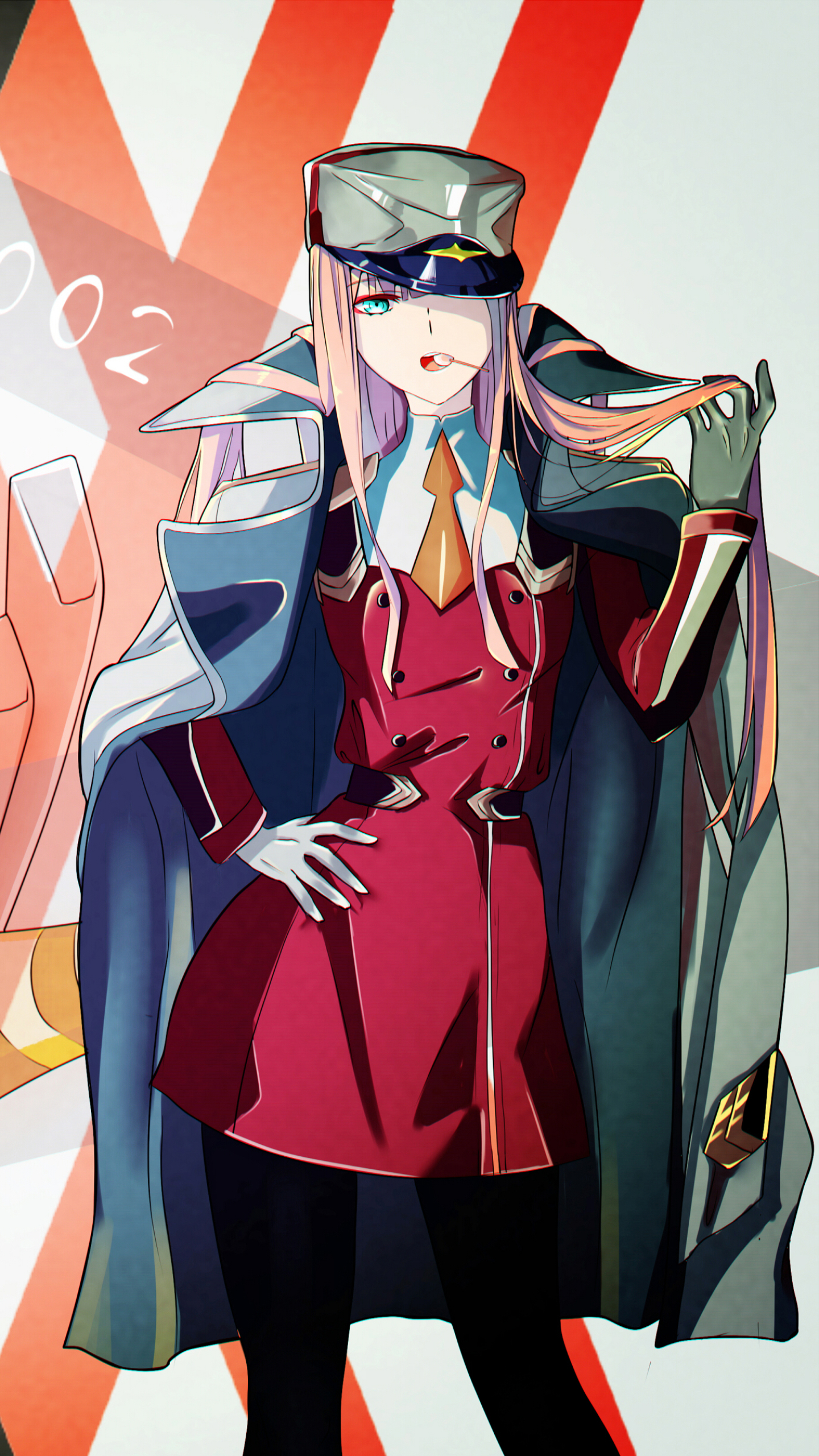 165 Darling In The Franxx Apple Iphone 7 750x1334 Wallpapers