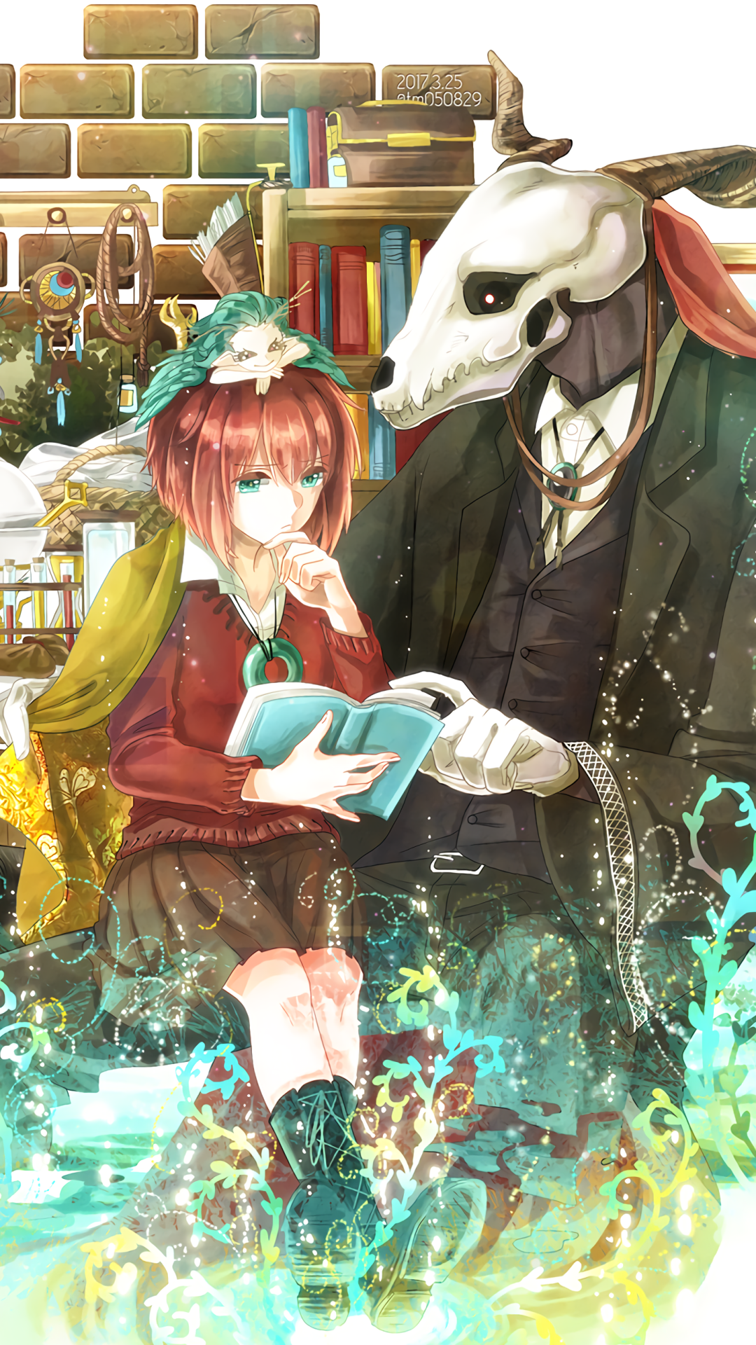 Anime The Ancient Magus Bride 1080x1920 Wallpaper Id 710807