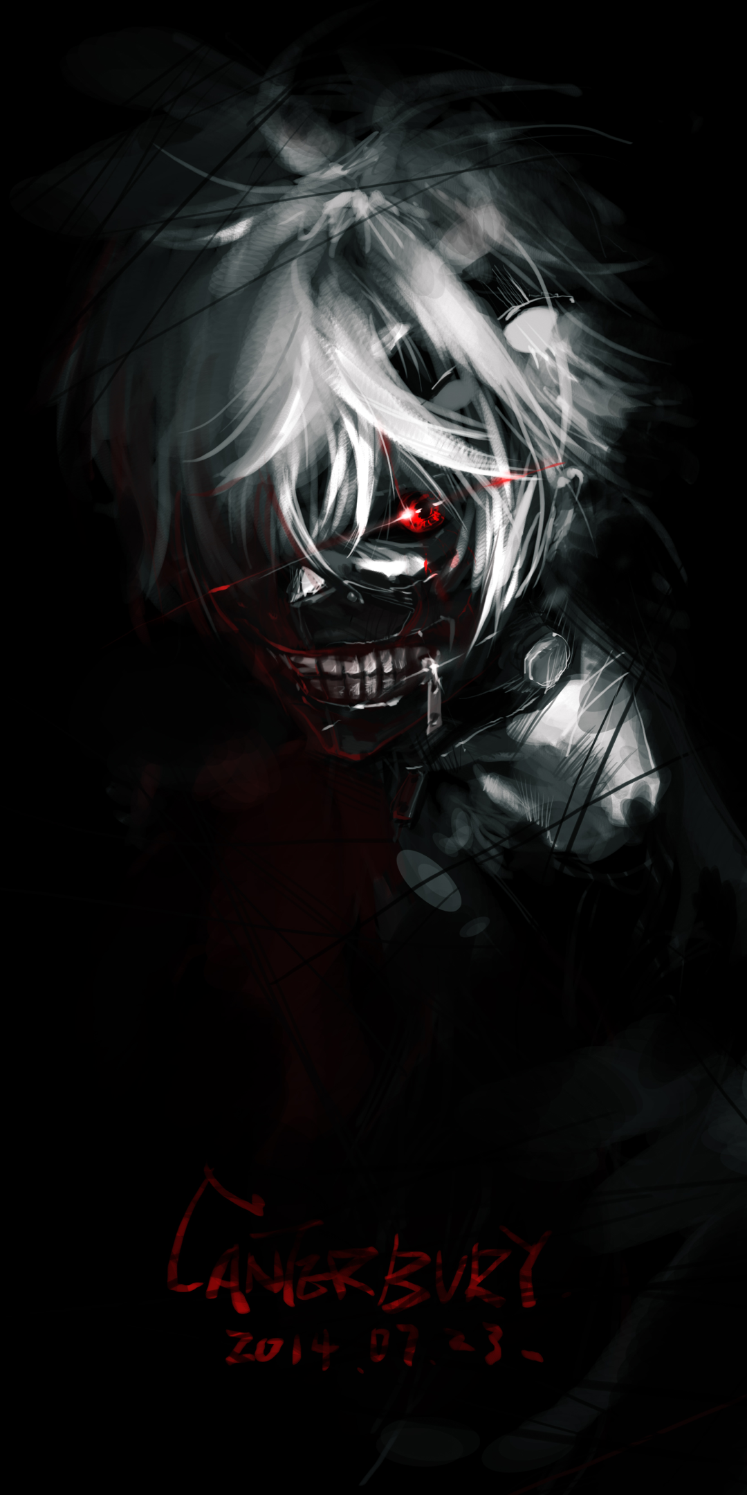 Anime Tokyo Ghoul 1080x2160 Wallpaper Id 711121 Mobile Abyss