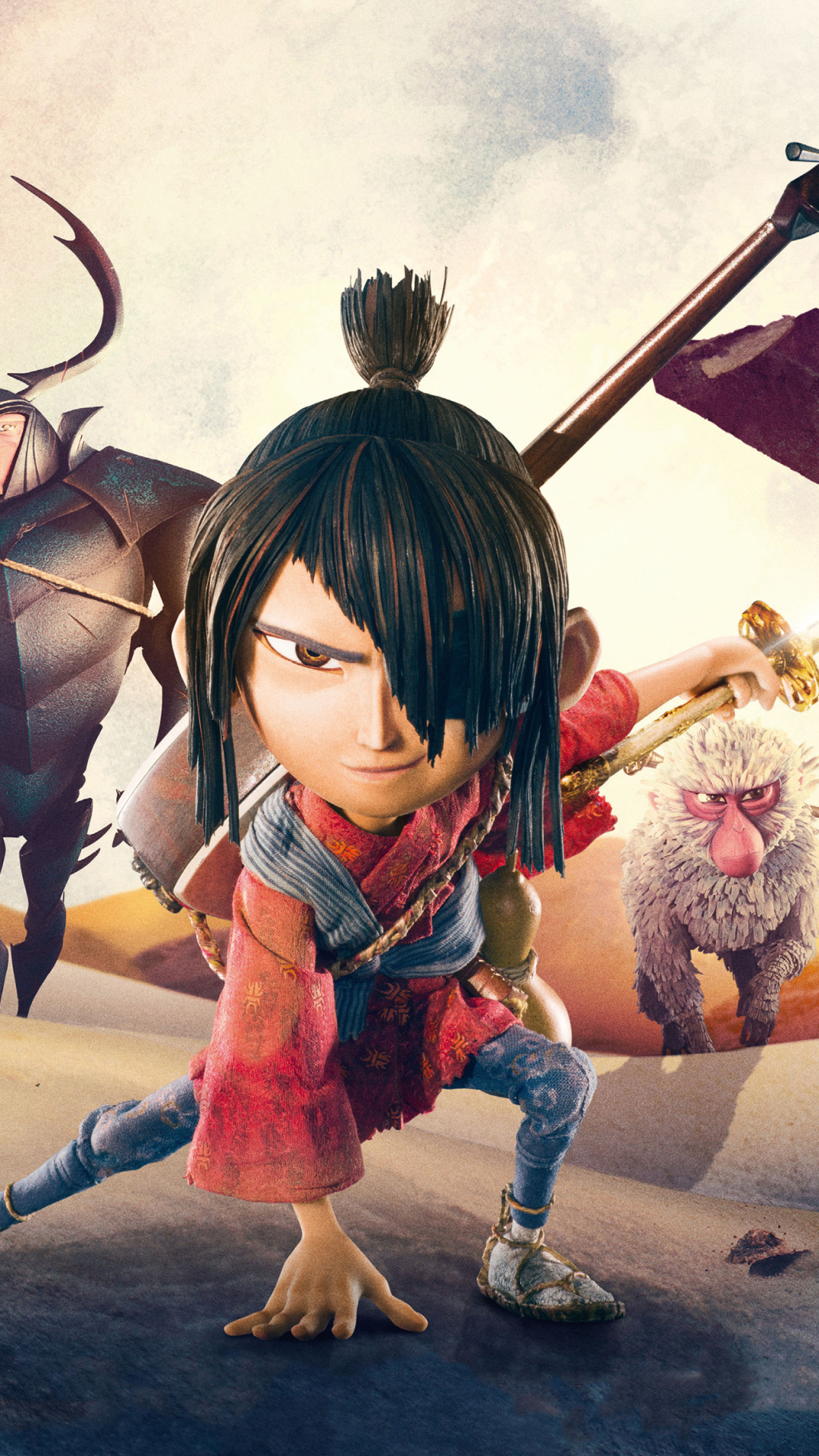 Movie Kubo And The Two Strings 1080x1920 Wallpaper Id 711848