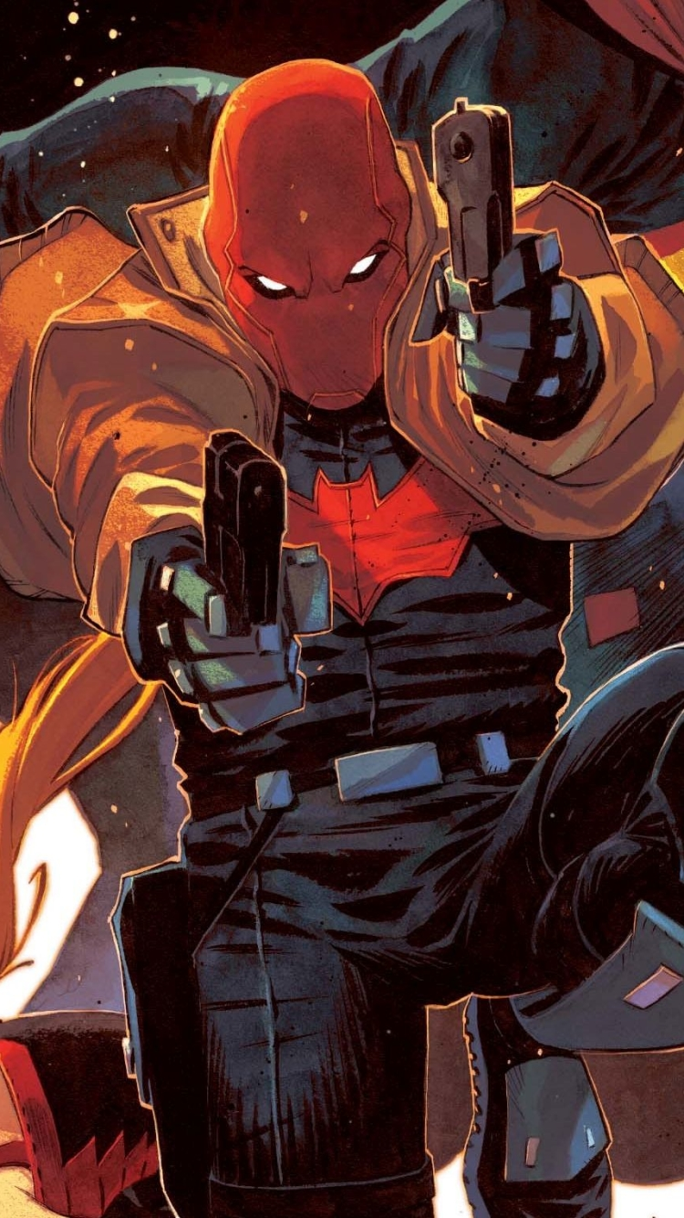 Comics Red Hood And The Outlaws 750x1334 Wallpaper Id 712642