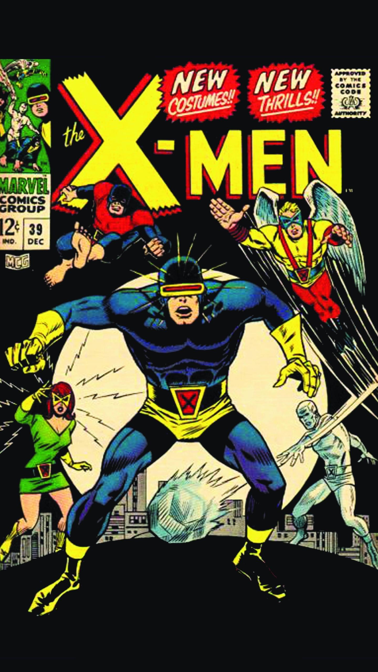 Comics X Men 1440x2560 Wallpaper Id 712805 Mobile Abyss