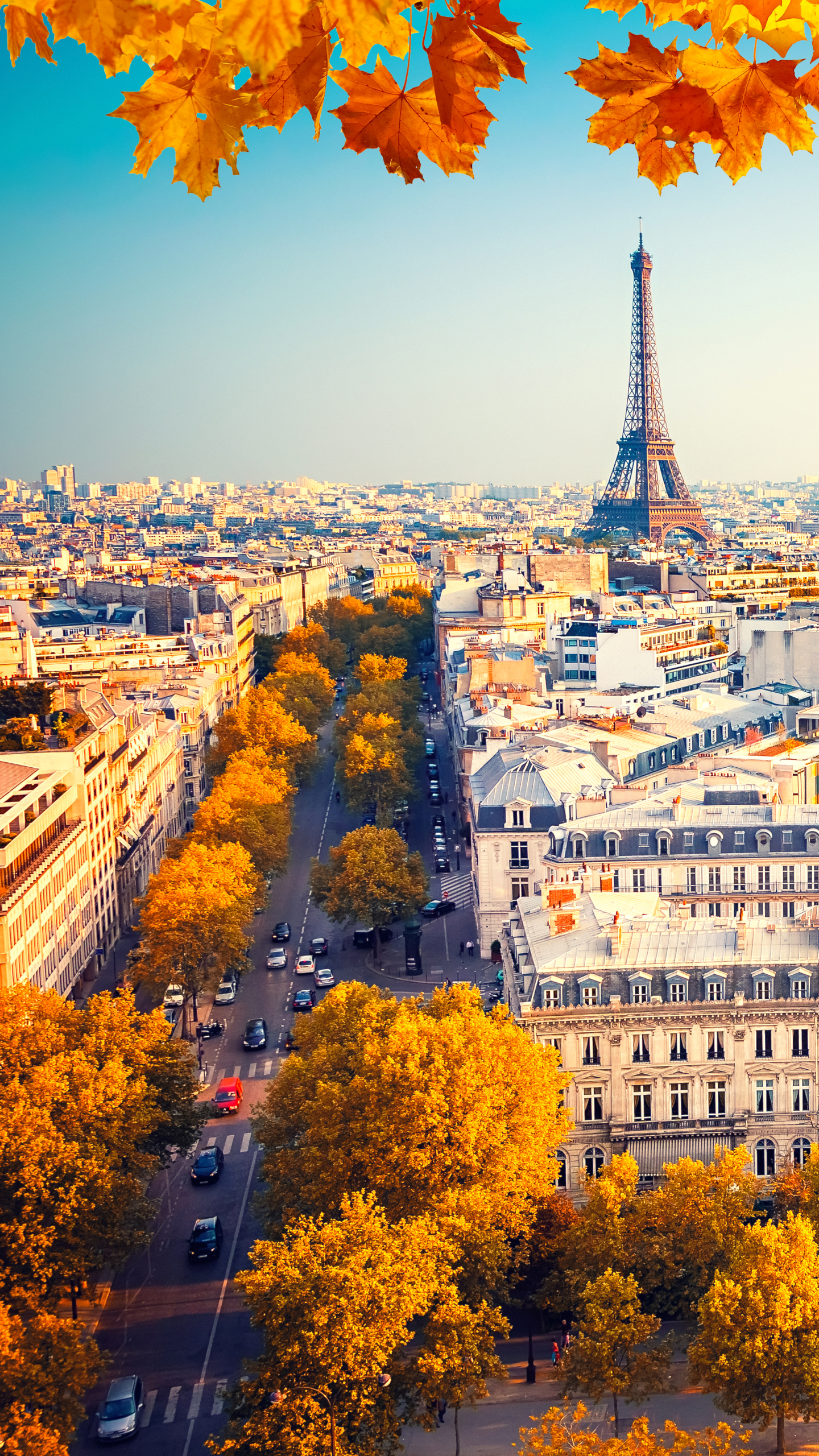 Man Made Paris 1440x2560 Wallpaper Id 713621 Mobile Abyss