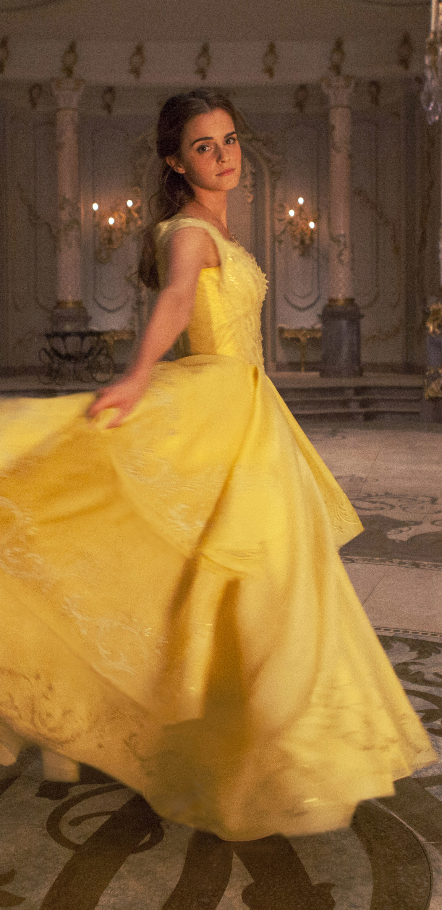 Movie Beauty And The Beast 2017 1440x2960 Wallpaper Id 715772
