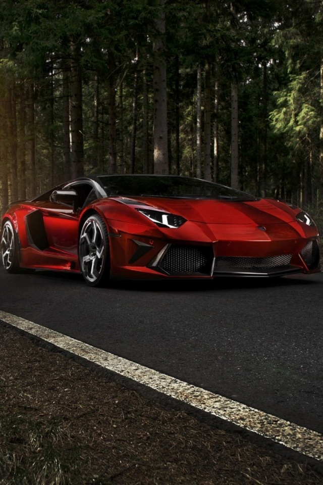 Vehicles Lamborghini Aventador 640x960 Wallpaper Id 716998