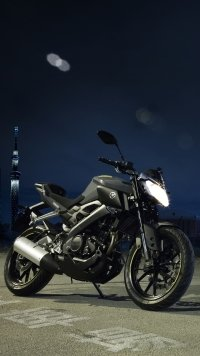 2 Yamaha Mt 125 Mobile Wallpapers Mobile Abyss