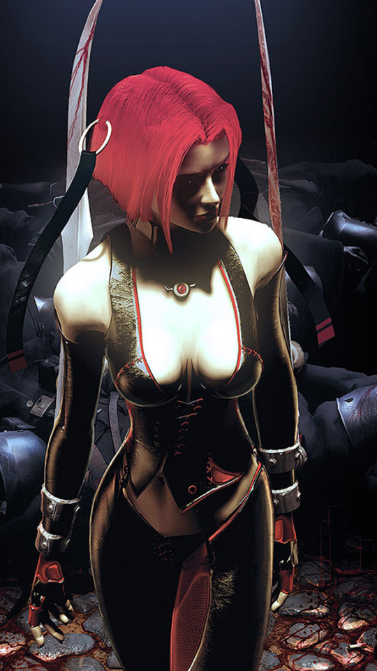 Video Game Bloodrayne 540x960 Wallpaper Id 720183 Mobile Abyss