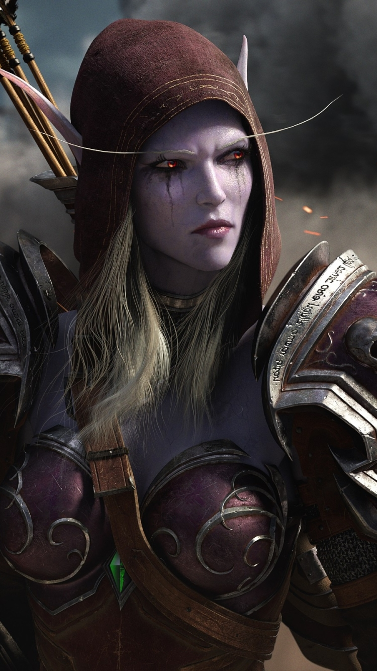Video Game World Of Warcraft Battle For Azeroth 750x1334