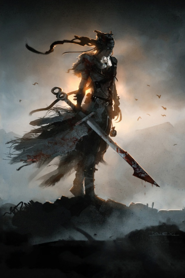 Video Game Hellblade Senua S Sacrifice 640x960 Wallpaper Id 720801 Mobile Abyss