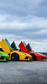 28 Lamborghini Aventador Samsung Galaxy J5 720x1280 Wallpapers