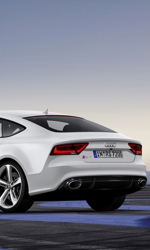 Vehicles Audi RS7 480x800 Mobile Wallpaper