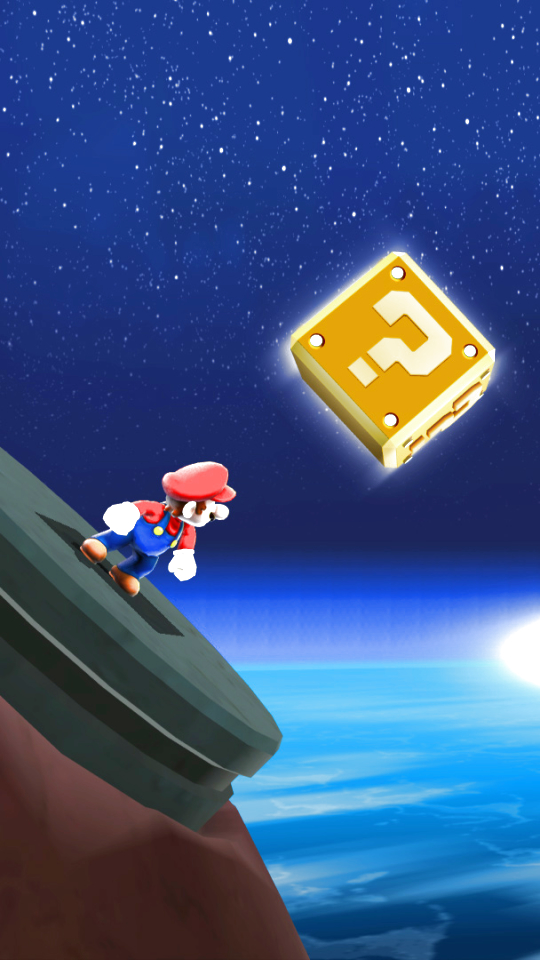 Video Gamesuper Mario Galaxy 540x960 Wallpaper Id 728920