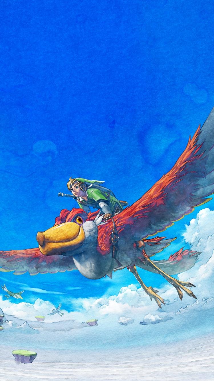 Video Game The Legend Of Zelda Skyward Sword 750x1334 Wallpaper