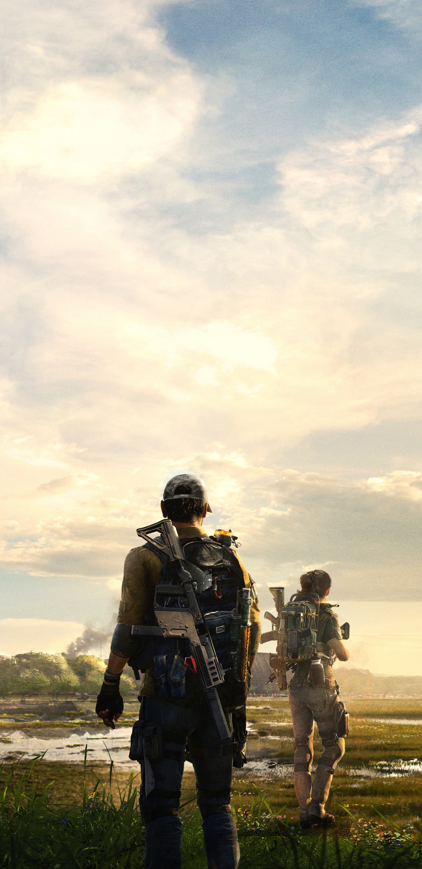 Video Game Tom Clancy S The Division 2 1440x2960 Wallpaper Id